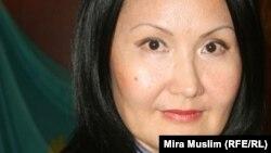 Салтанат Каракозова, руководитель пресс-службы ДВД Южно-Казахстанской области.
