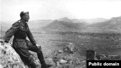 Немецкий солдат в Судаке