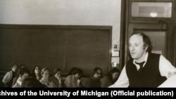 Иосиф Бродский в Мичиганском университете