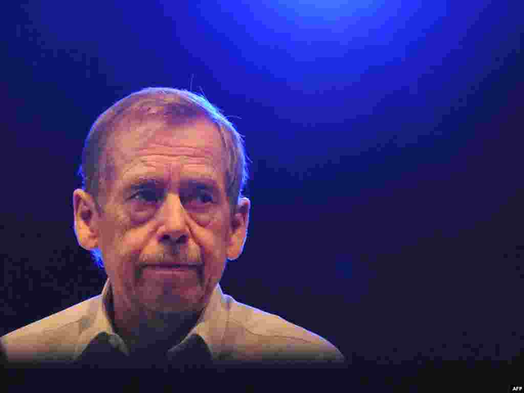 Czech Republic -- Former President Vaclav Havel, 19Jul2008