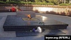 «Вечный огонь» в парке им. Гагарина в Симферополе. Архивное фото