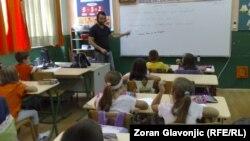 Iz jedne od srpskih osnovnih škola