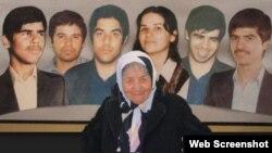 «نیّره جلالی مهاجر» از مادران خاوران در سرکوبهای دهه ۶۰ پنج فرزند و دامادش را از دست داد