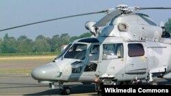 """Вертолет """"Пантера"""", подобный тому, который упал в Черное море"""