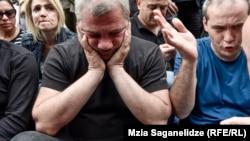 Отец убитого подростка Заза Саралидзе
