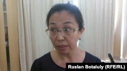 Ақбота Жаппар, Астана қаласының бюджетінің ашықтығына сараптама жасаған зерттеуші. Астана, 25 тамыз 2015 жыл