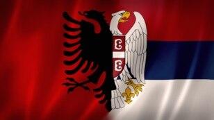 Orao albanske i orao srpske zastave