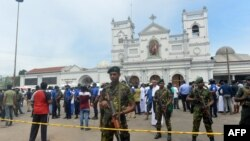 Blast at the St. Anthony's Shrine in Kochchikade, Colombo