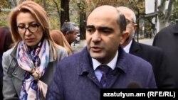 Лидер партии «Просвещенная Армения» Эдмон Марукян, 6 декабря 2018 г.