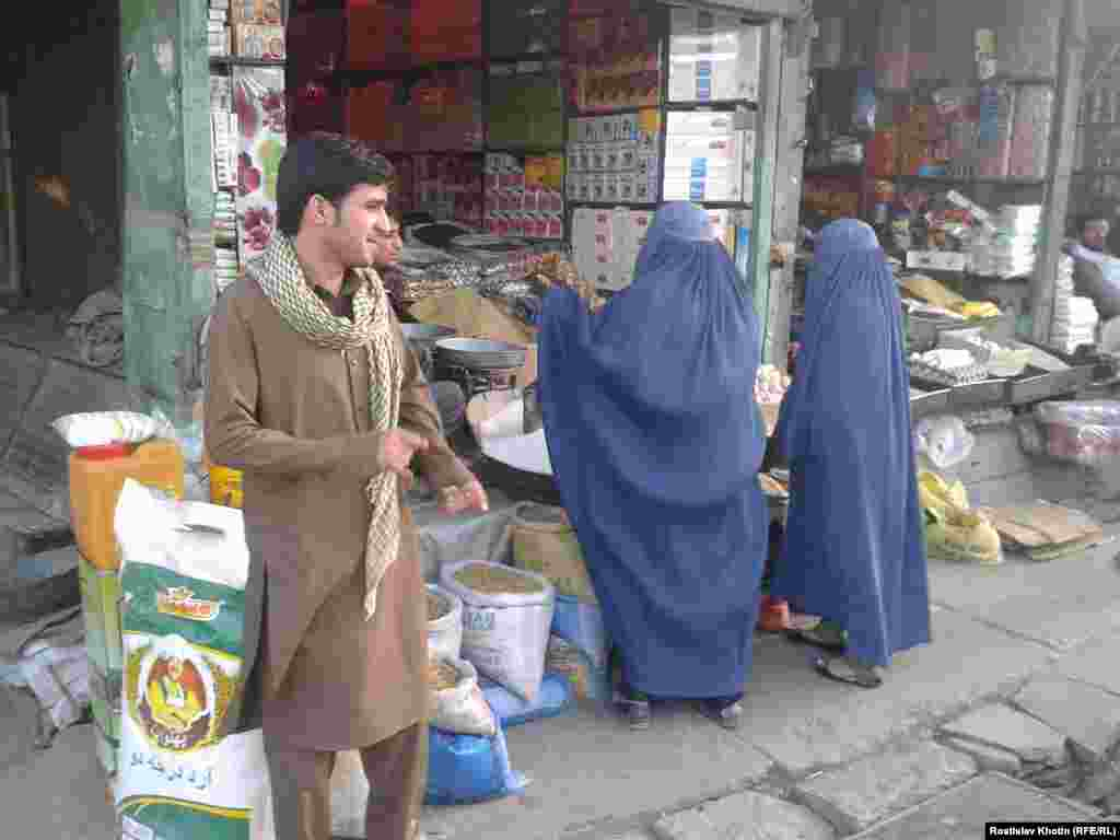 Women wearing all-encompassing burqas are seen mainly in Afghan villages and poor city outskirts.