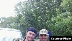 Donbassda döyüşən erməni yaraqlısı