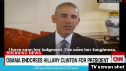 Barack Obama qərarını video vasitəsilə elan edib