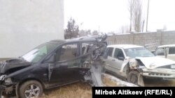 Автоавария в Таласской области, 30 ноября 2011 года.