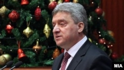 Makedoniya prezidenti Gjorge Ivanov