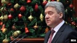 Годишно обраќање во Собранието на претседателот на Македонија Ѓорге Иванов. 26.12.2017
