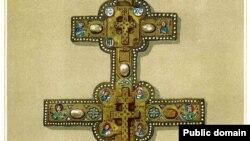 Крыж Эўфрасіньні Полацкай. Мастак Лазар Богша. 1161 год