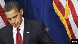 باراک اوباما، رییس جمهوری آمریکا