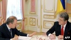 """Возможно, в этот момент президент Украины Виктор Ющенко и глава компании """"Нафтогаз Украины"""" Олег Дубина подсчитывают """"газовые убытки"""""""