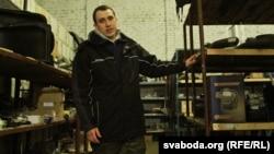 Павал Севярынец у вёсцы Куплін