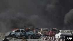 A May 31 truck bombing in Kabul killed more than 150 people.