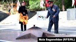 9 мая в тбилисском парке Ваке