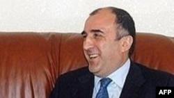 Azerbaijani Foreign Minister Elmar Mamadyarov