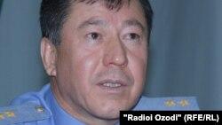 Міністар унутраных спраў Таджыкістану Рамазон Рахімаў