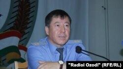 Рамазон Раҳимзода, вазири корҳои дохилаи Тоҷикистон