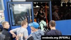 Затрыманьні ў Менску 29 чэрвеня.