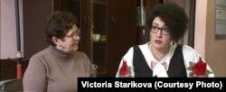 Мария Осипова со своим адвокатом
