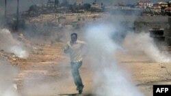 Израиль хәрбиләре фәләстиннәргә каршы күз яше чыгаручы газ кулланды.