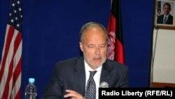 Джеймс Каннингем, посол США в Афганистане. Кабул, 30 октября 2013 года.