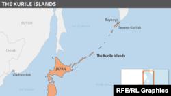 Mübahisəli Kuril adaları.