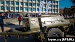 Празднование Масленицы в Камышовой бухте. Севастополь, 18 февраля 2018 года