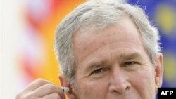 جرج بوش، رییس جمهوری آمریکا. (عکس:AFP)