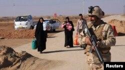 عوائل تنزح من الأنبار إلى كربلاء - 20 كانون الثاني 2014