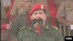 Wenesuelanyň prezidenti Ugo Çawez