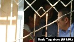 В камере для задержанных в казахстанской полиции. Иллюстративное фото.