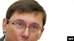 Former Interior Minister Yuriy Lutsenko (file photo)