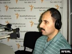 Azerbaijan – Journalist Azer Hasrat, Baku, Sep2009