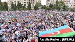 Ադրբեջան - Ընդդիմության հանրահավաքը Բաքվում, 11-ը սեպտեմբերի, 2016թ․