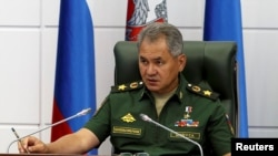 Russian Defense Minister Sergei Shoigu says Russia and the United States are near an agreement on defusing the crisis in Syria's Aleppo.