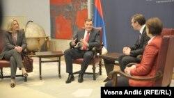 Sastanak predsednika i premijera Srbije i RS