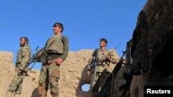 Патруль афганской армии в провинции Гильменд