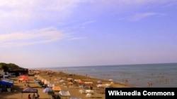 Курортный поселок Набрань. Азербайджан