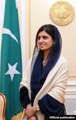 Министр иностранных дел Пакистана Хина Раббани Кхар