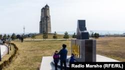Ингушетиядағы 1944 жылғы депортация құрбандарына орнатылған ескерткіш
