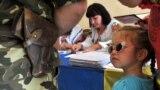 Голосування на одній з виборчих дільниць у Львові під час виборів президента України, 25 травня 2014 року