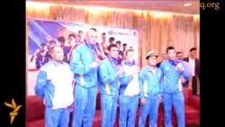 Казахстанские спортсмены вернулись на Родину