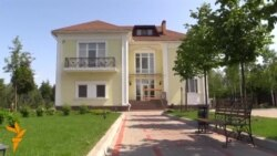 Ukraine's Displaced Families Settle At Former Presidential Residence